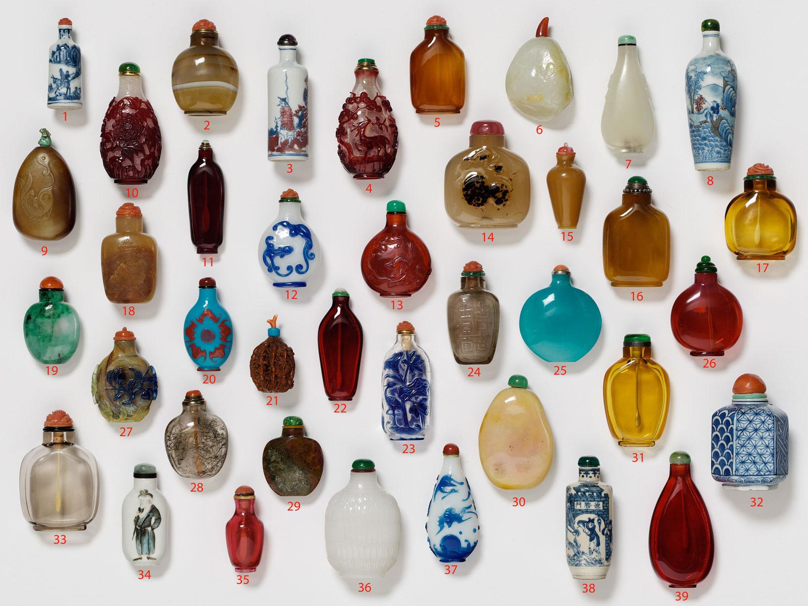 Robert Hall Chinese Snuff Bottles IV Etude Jutheau October 10th, 1991 HCDJ ~ S2